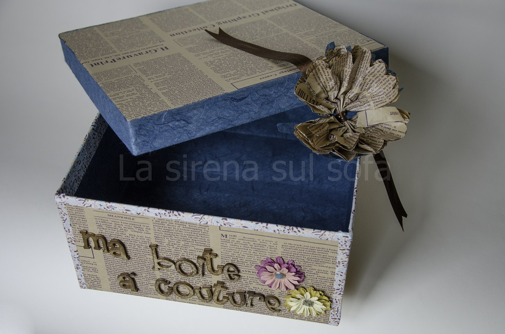 scatola alterata