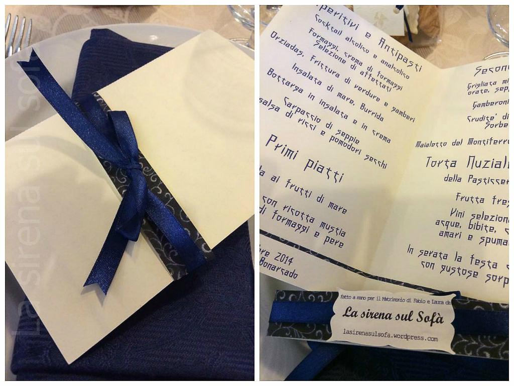menu blu giappone