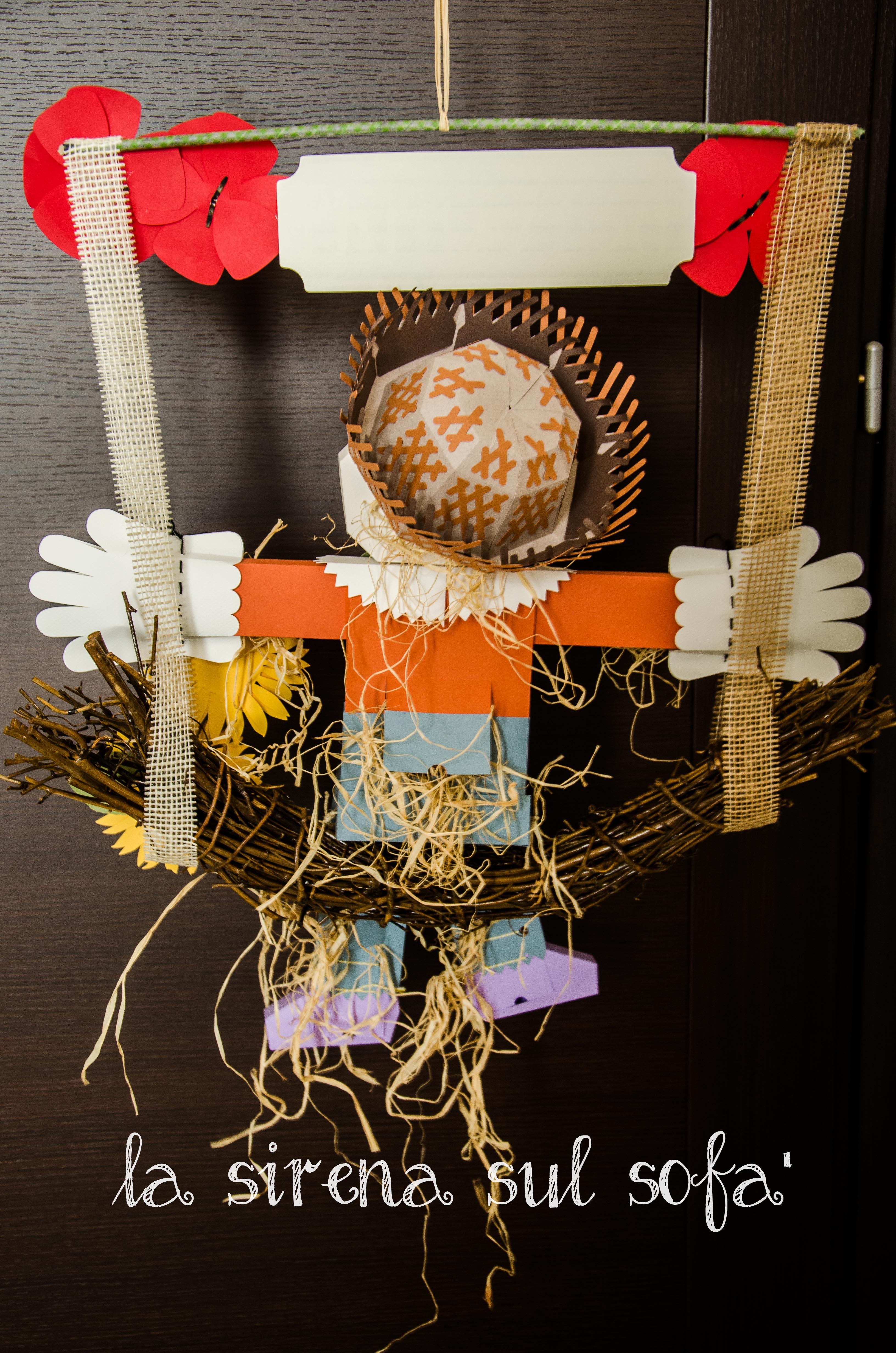 scarecrow retro